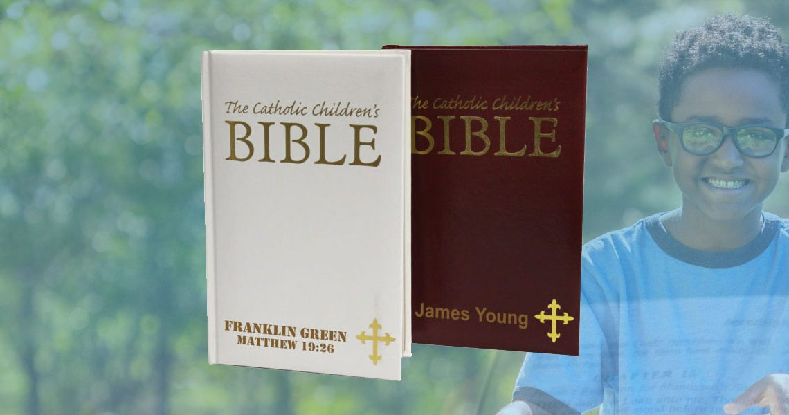 Personalized children bibles for sale